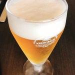119180297 - 生ビール(キリン一番搾り)小