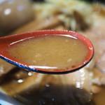 きりきり舞 - 濃厚スープ