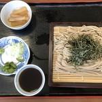 仙波そば小林 - 料理写真:ざるそば