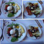RIFFELHAUS1853 - 夕食。バイキング。リッフェルハウス(リッフェルベルク,ツェルマット,スイス)食彩品館.jp撮影