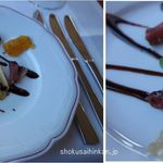 RIFFELHAUS1853 - 夕食。前菜。リッフェルハウス(リッフェルベルク,ツェルマット,スイス)食彩品館.jp撮影