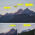 RIFFELHAUS1853 - リッフェルハウスから周辺の山々(リッフェルベルク,ツェルマット,スイス)食彩品館.jp撮影