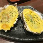 Ginzaraion - カキの殻焼き