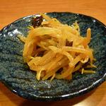 京橋タンメン - ピリ辛モヤシです。