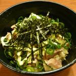 京橋タンメン - チャーシュー丼です。