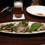 ウイステリア - 鴨むね肉ペッパー風味に茸のマリネ
