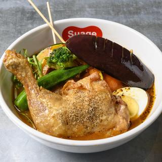 海外にも店舗を持つ札幌にある人気店のスープカレーを東京でも!
