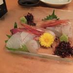 yakuzennabebutashabusemmontennishitani - 造り・旬鮮魚のお刺身