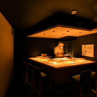特別な空間◎鮨カウンター専用VIP個室でおまかせコース