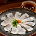 さかな工房 丸万 - 料理写真:2019.10 穴子のタタキ