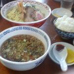 金ちゃんラーメン - つけ麺&ライス