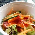 アユタヤ - ランチのサラダ