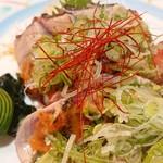 四季彩華旬太郎 - 鰹のみそたたき このお店のオリジナル。