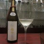 日本料理 TOBIUME - ①亜麻猫オーク(復興支援酒、売り上げの一部が義援金に)