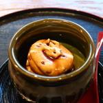 御米司ふみや - 茶壺の抹茶プリンアップ