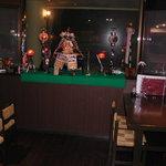 恩納つばき - 店内は五月人形の装飾が!
