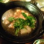 たべごと屋 ござる - 牛スジの塩煮