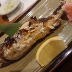 二本松 - 料理写真:いわな塩焼き