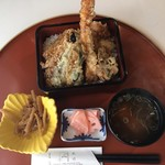松竹 - 名物!松竹の天丼、1400円です