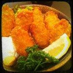 刺身居酒屋 海鮮丸 - かきフライ