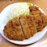 119221280 - ロースかつ定食(770円)+カキフライ2ケ(160円✕2)