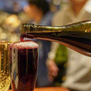 ワイン飲むなら2538へ!他にも豊富なドリンク!