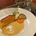 ル・コントワール・デュ・グー - 天然鯛パイ包焼き ショロンソース