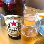 餃子の王さま - 瓶ビール 480円
