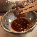 チャイム - 辛子酢醤油で食べます