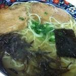 ラーメン天和 - 半透明スープなラーメン