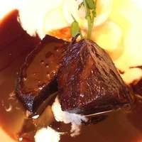 ノーマル - 牛ホホ肉の赤ワイン煮 1/2 ¥1,000