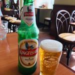 インドアジアダイニング - キングフィッシャービール