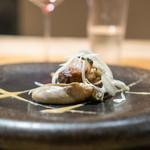 119230397 - 梅山豚のロースとバラ肉、厚岸の牡蠣