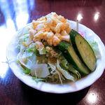 トラットリア パッキーノ - Aセットのサラダ