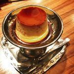 モトマチ喫茶 - 自家製カスタードプリン