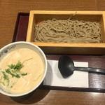 119234062 - 「くるみ湯葉豆腐」蕎麦の大盛り