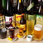 焼ジビエ 罠 - 飲み放題は酒類豊富
