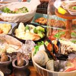 貝と魚と炉ばたのバンビ - 料理写真: