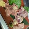 あい庵 - 料理写真:鶏のレバ・もも・むね三種盛り合わせ