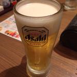いいだばし畑 - 生ビール