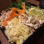 いいだばし畑 - しゃぶしゃぶ用野菜
