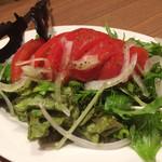 いいだばし畑 - トマトのサラダ