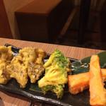 いいだばし畑 - 夏野菜の天ぷら
