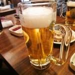 11924648 - 飲み放題の生ビール(発泡酒でした) しかし6杯も飲んでしまった。