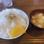 喫茶キャメル - ライス大プラス¥100円