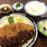 ささ乃木 - ♪とんかつ定食 ¥700
