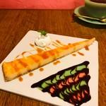 CAFE+BAR shya-la-la - プリンケーキ