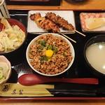 鳥繁 - 料理写真:小町定食¥850-