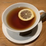 テラスレストラン - 紅茶160円
