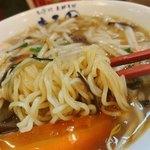 まると - サンマー麺の麺